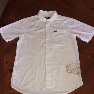 Boys Quiksilver shirt L